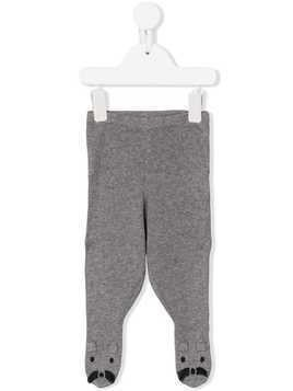 Stella Mccartney Kids rabbit knitted trousers - Grey