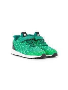 Adidas Kids textured touch strap sneakers - Green