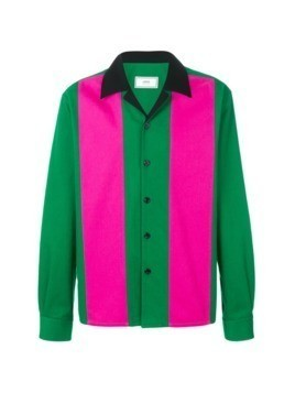 Ami Alexandre Mattiussi camp collar shirt - Green