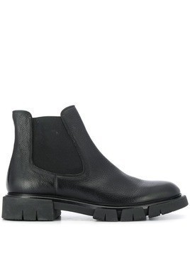 Fratelli Rossetti elasticated side panel boots - Black