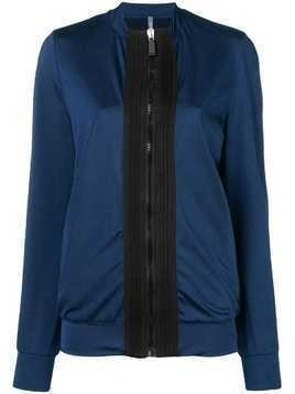 No Ka' Oi colour block sports jacket - Blue