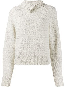 Isabel Marant chunky knit jumper - Grey