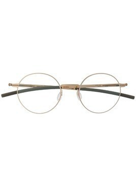 Ic! Berlin Oroshi round frame glasses - Gold