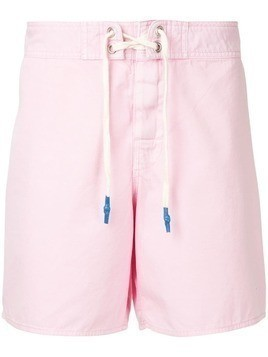 The Upside lace-up shorts - Pink & Purple