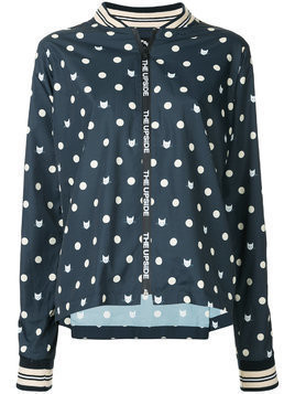 The Upside cat-print jacket - Blue