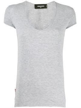 Dsquared2 scoop neck T-shirt - Grey