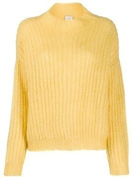 Alysi chunky knit jumper - Yellow
