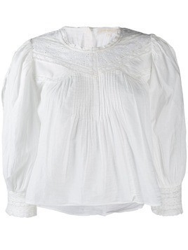 Love Shack Fancy Phoebe blouse - White