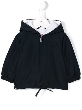 Il Gufo hooded jacket - Blue