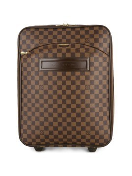 Louis Vuitton Vintage checkered monogram luggage bag - Brown