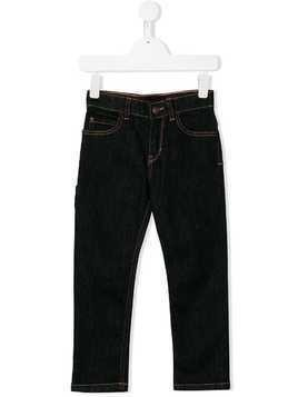 Little Marc Jacobs contrast-stitch skinny jeans - Blue