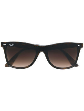 Ray-Ban Blaze Wayfarer sunglasses - Brown