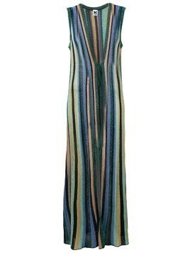 M Missoni striped long cardigan - Blue