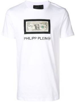 Philipp Plein Dollar T-shirt - White