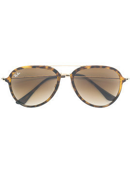 Ray-Ban aviator frame sunglasses - Brown