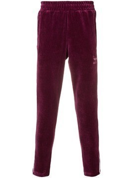 Adidas velvet track pants - Purple