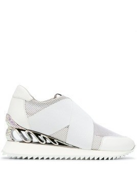 Le Silla wedge slip-on trainers - White