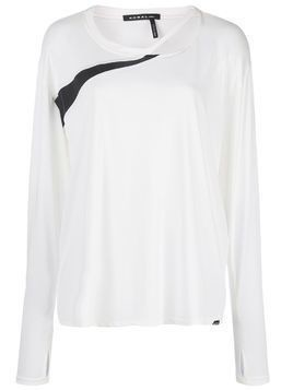 Koral Pace Cupro longsleeve T-shirt - White