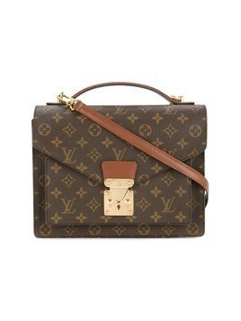 Louis Vuitton Vintage Monceau 28 2-way Business Bag - Brown
