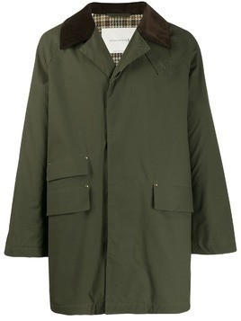 Mackintosh FALKIRK Dark Olive Waxed Cotton Field Coat GM-1021F - Green
