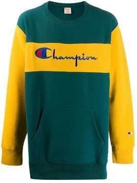 Champion embroidered logo sweatshirt - Green