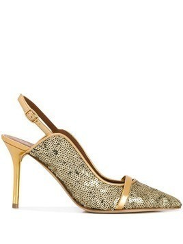 Malone Souliers Marion slingback pumps - Gold