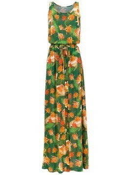 Isolda Rebeca long dress - Green