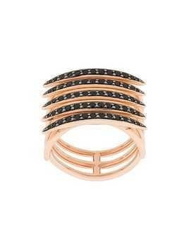 Shaun Leane Quill black spinel ring - Gold