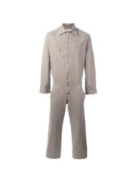 Walter Van Beirendonck Vintage distressed boiler suit - Brown