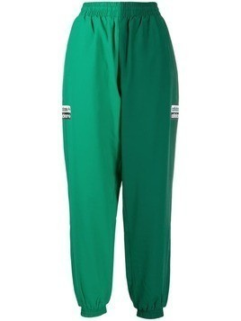 Adidas block panel track pants - Green
