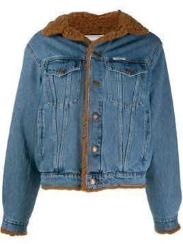 Forte Dei Marmi Couture patch denim jacket - Blue