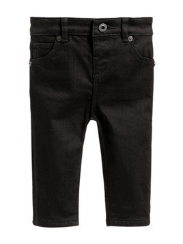 Burberry Kids Skinny Fit Stretch Denim Jeans - Black