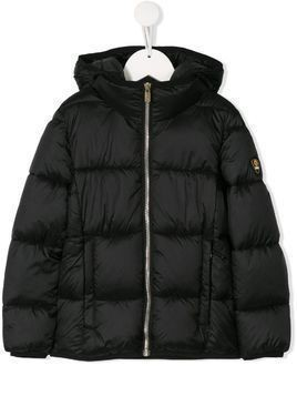Ciesse Piumini Junior Charlotte hooded puffer coat - Black