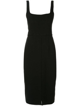 Dion Lee fitted corset dress - Black