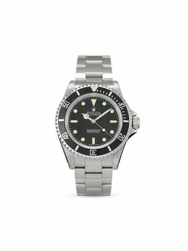 Rolex 1990 pre-owned Submariner 40mm - Black