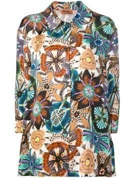 Missoni floral loose fit shirt - Brown