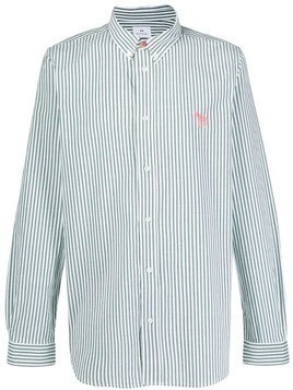 PS Paul Smith striped pattern shirt - Green