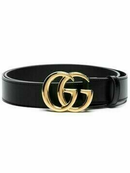 Gucci Double G buckled belt - Black