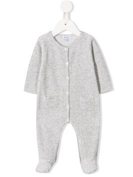 Absorba crew neck romper - Grey