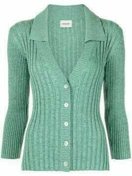 Rachel Comey Vos ribbed-knit cardigan - Green
