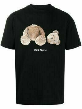 Palm Angels bear-print T-shirt - Black