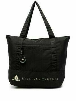 adidas by Stella McCartney logo-print tote bag - Black
