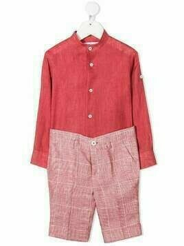 Colorichiari two piece suit - Pink