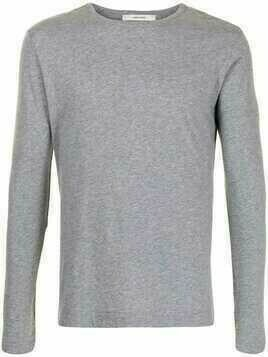 Adam Lippes long-sleeved cotton T-shirt - Grey