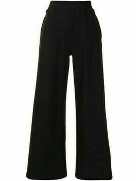 L'Agence high-waisted flared leg trousers - Black