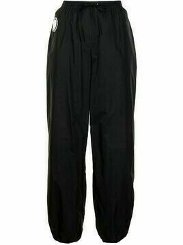 David Koma tapered shell trousers - Black