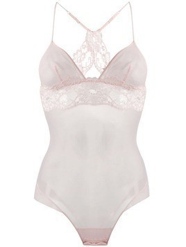 La Perla Tres Souple lace detail body - Pink