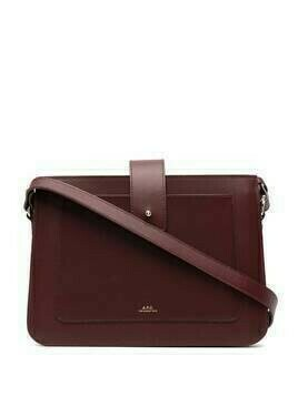 A.P.C. Albane cross-body bag - PURPLE