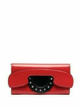 Karl Lagerfeld K/Ikon Telephone continental flap wallet - Red
