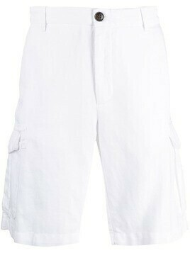 Eleventy straight-leg chino shorts - White